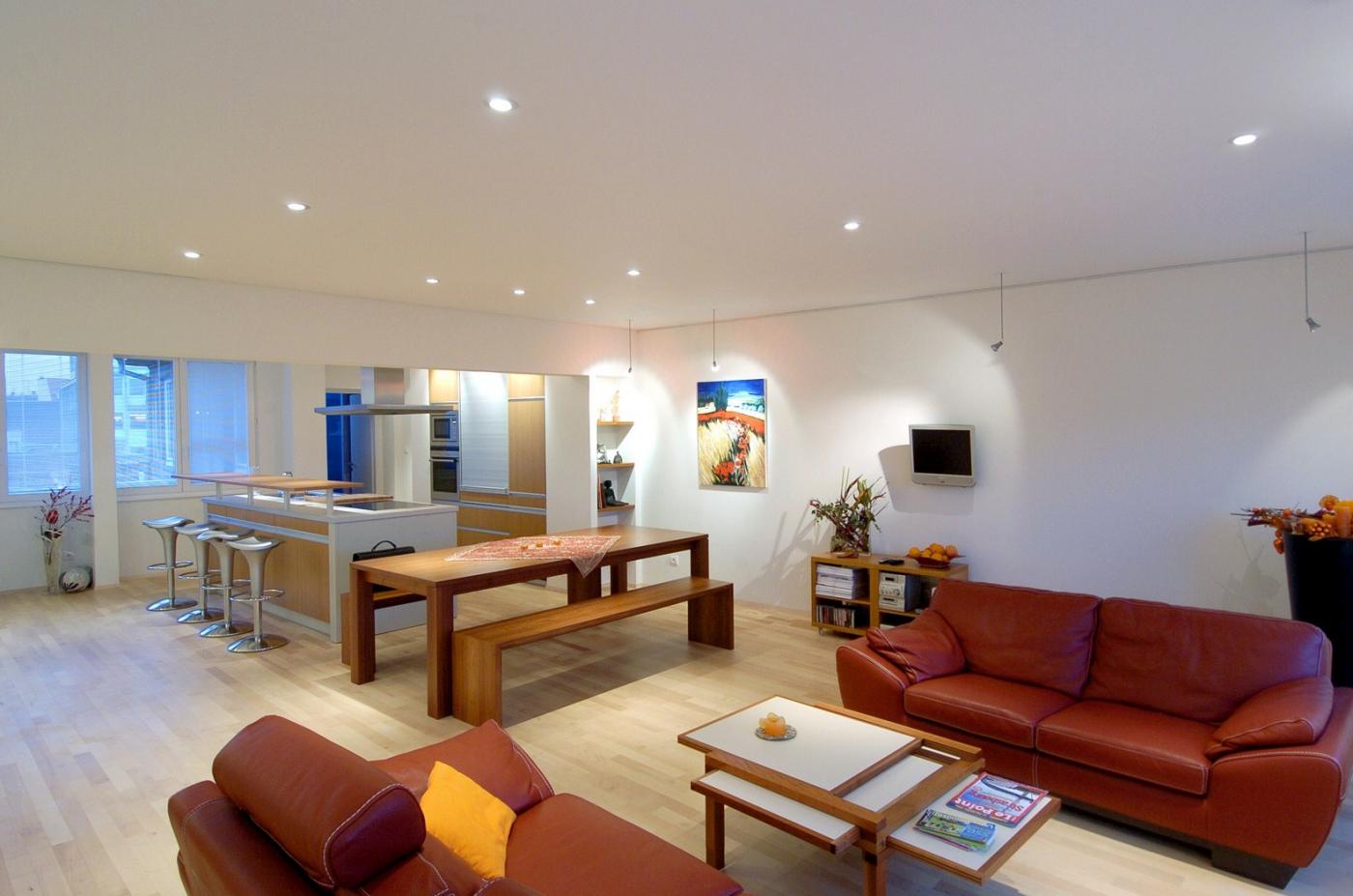 Акустический натяжной матовый потолок