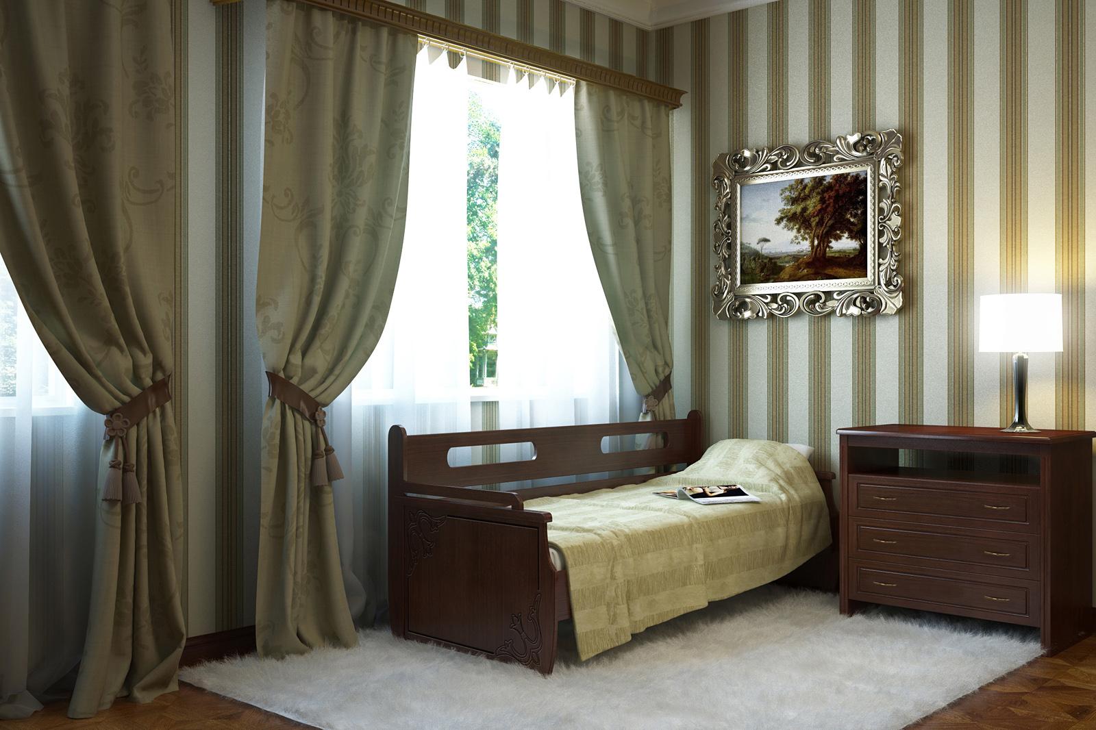 Кровать тахта из МДФ