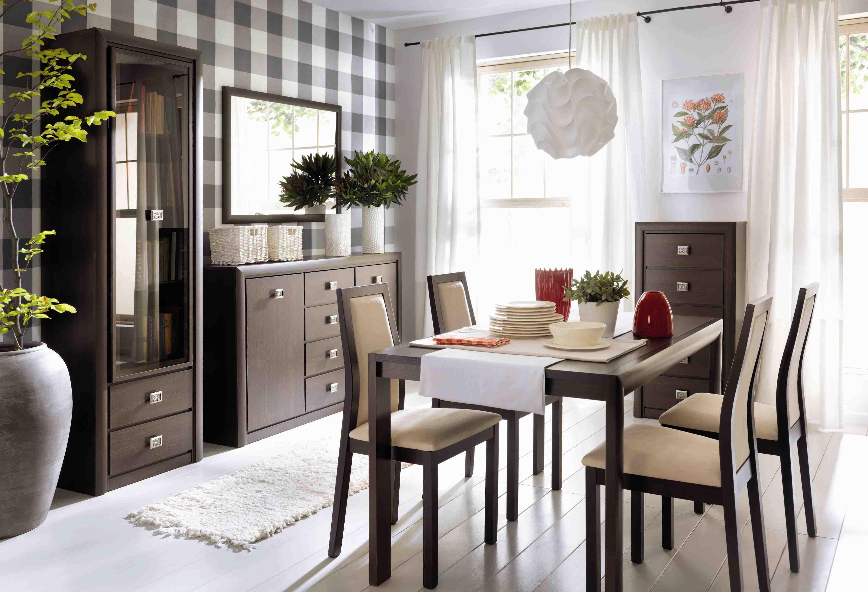 Мебель венге в гостиной