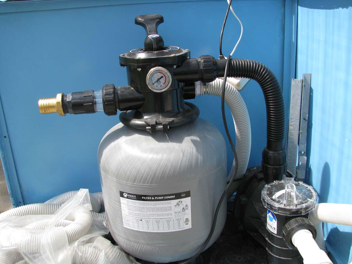 Механический фильтр для бассейна
