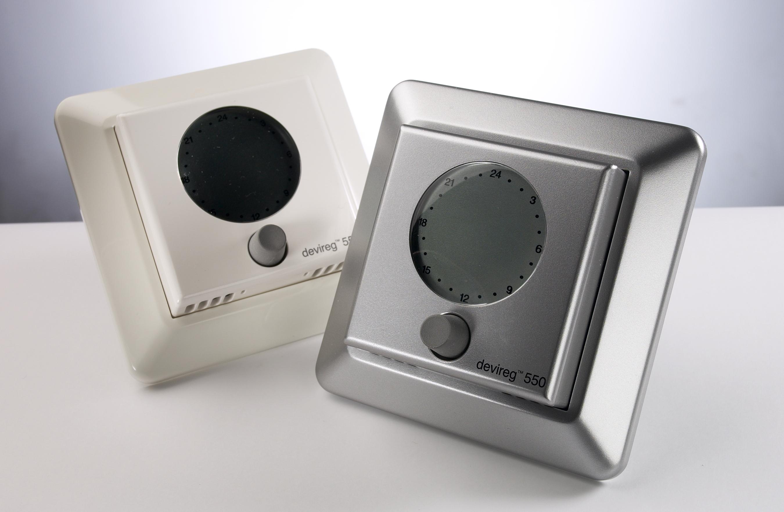 Механический терморегулятор для теплого пола