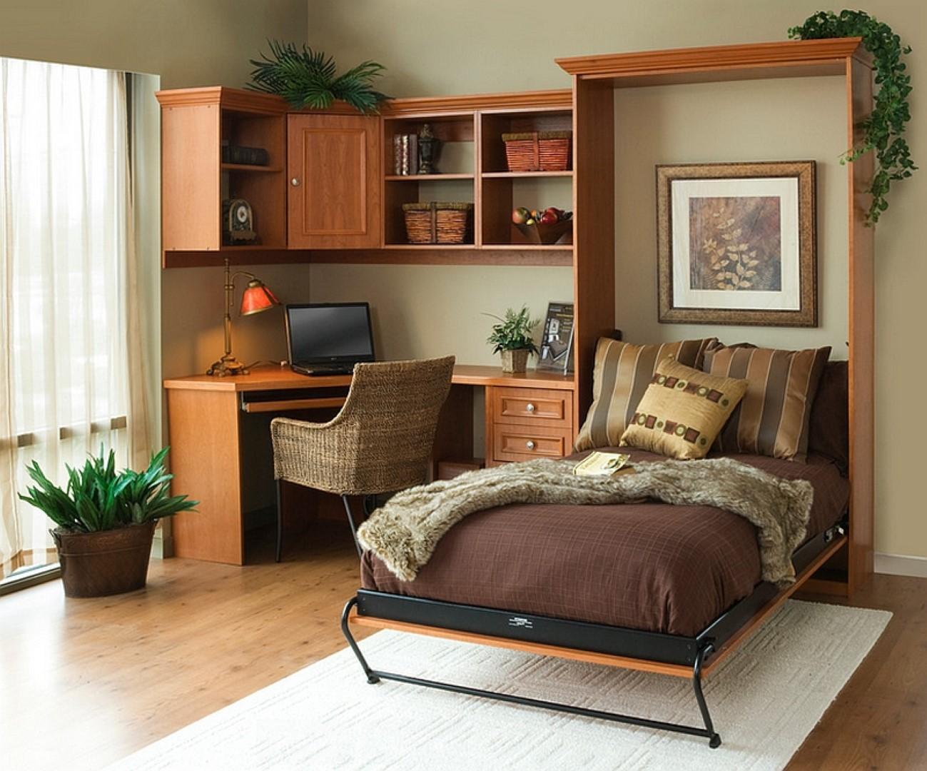 Кровать-тумба с подъемным механизмом