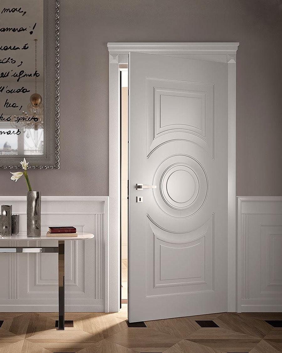 Межкомнатная металлическая дверь 2017