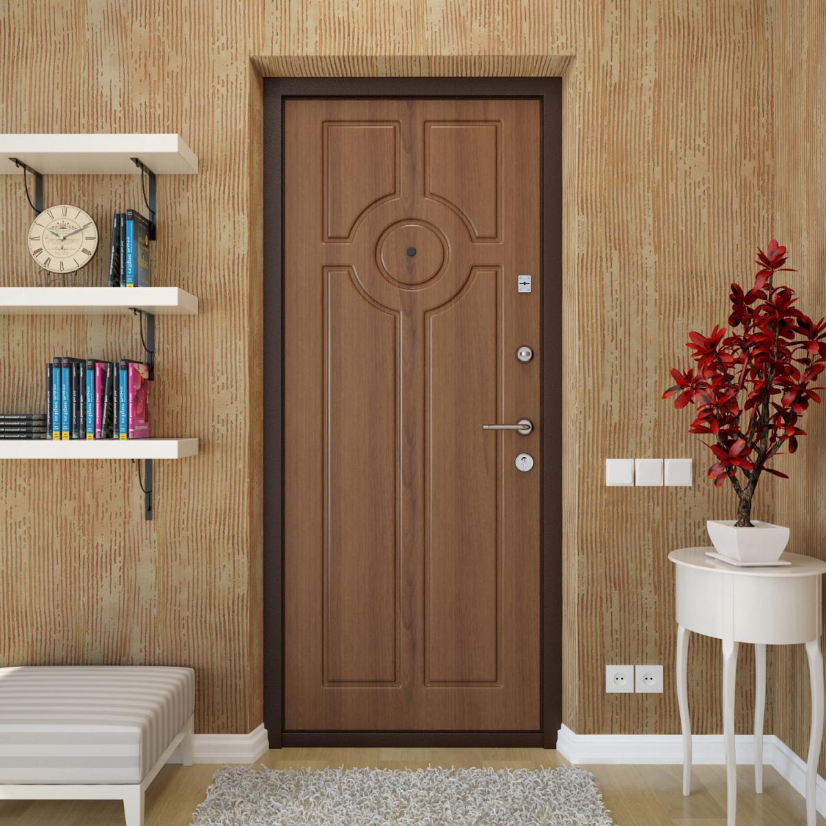 Входная металлическая дверь МДФ