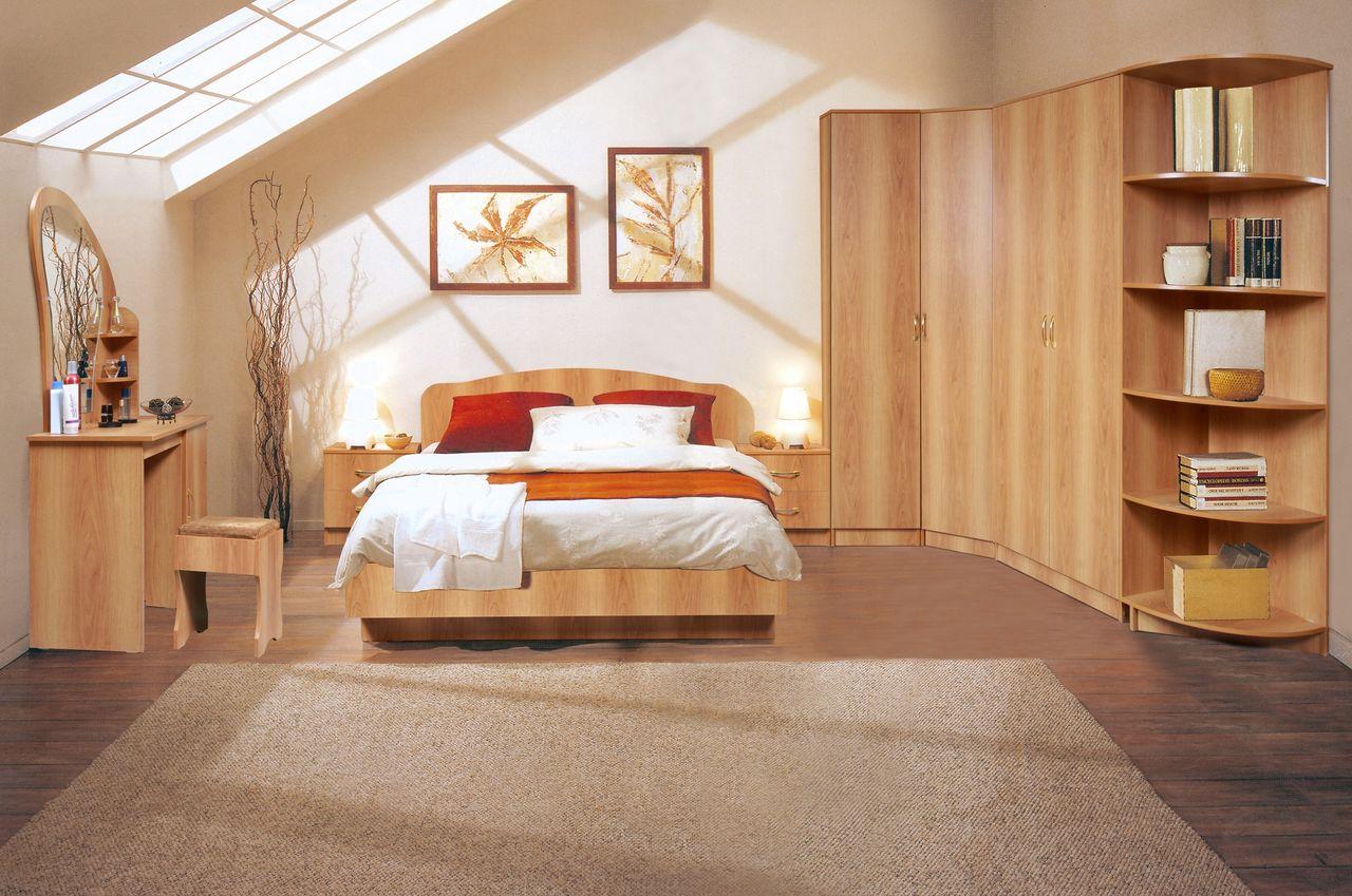 Кровать миланский орех