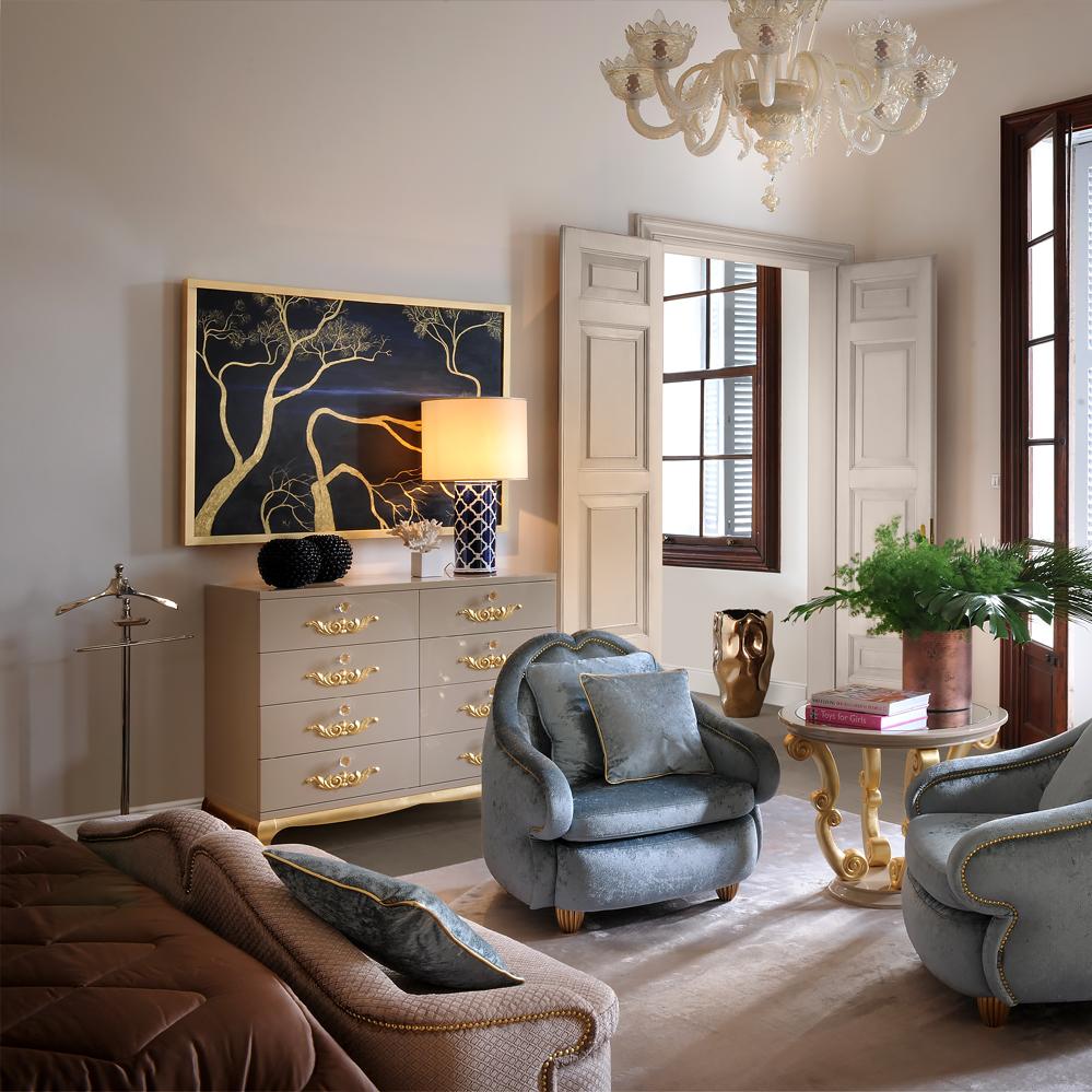 Комод в гостиную в стиле модерн
