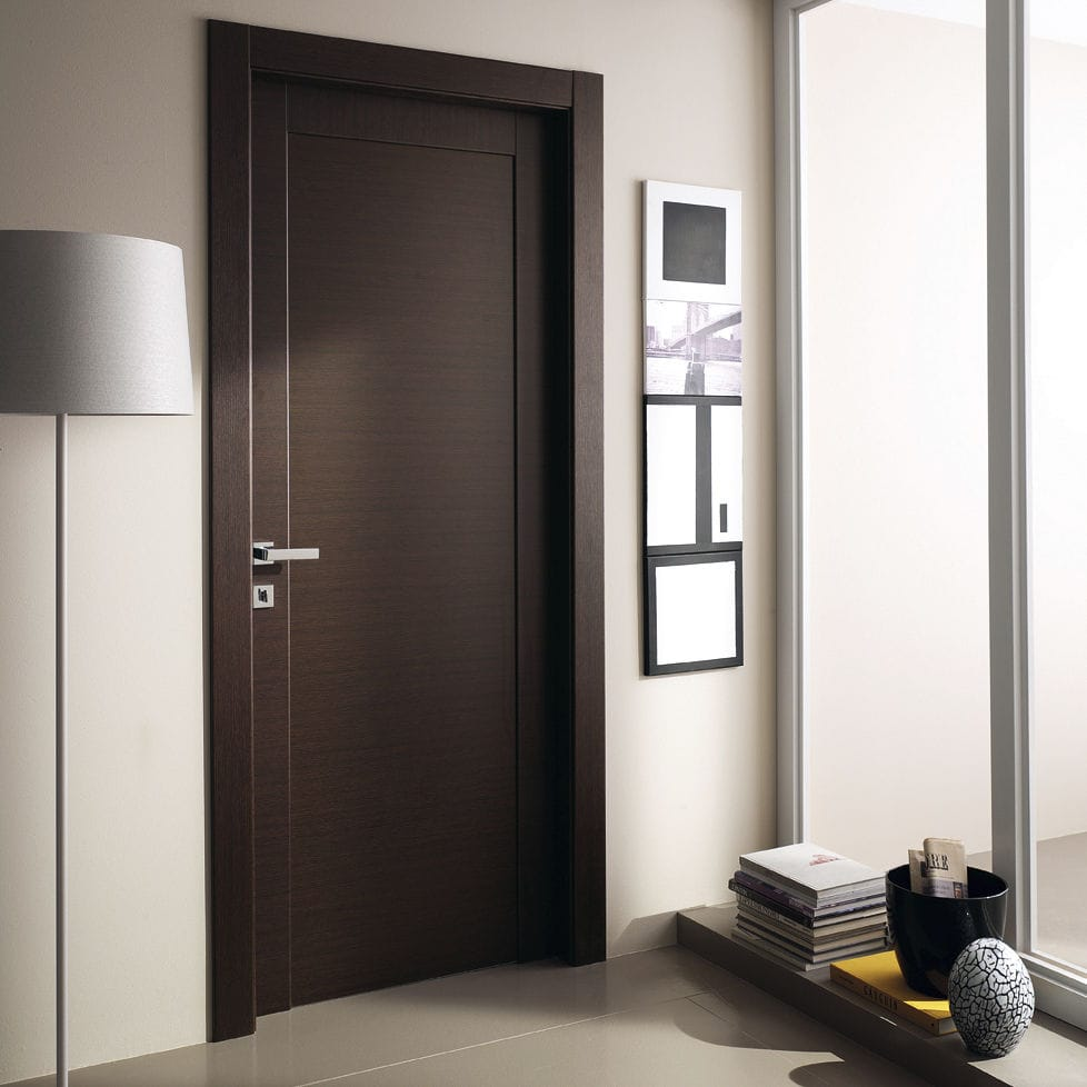 Ламинированная дверь в стиле модерн