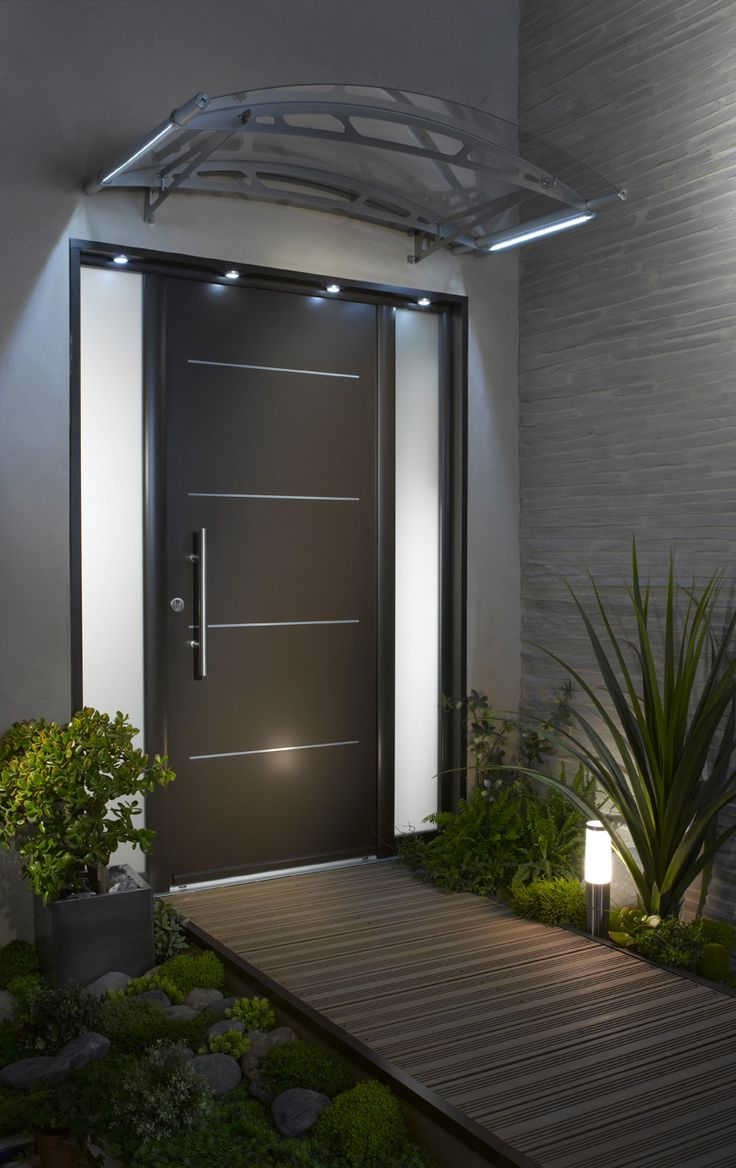 Входная дверь МДФ в стиле модерн