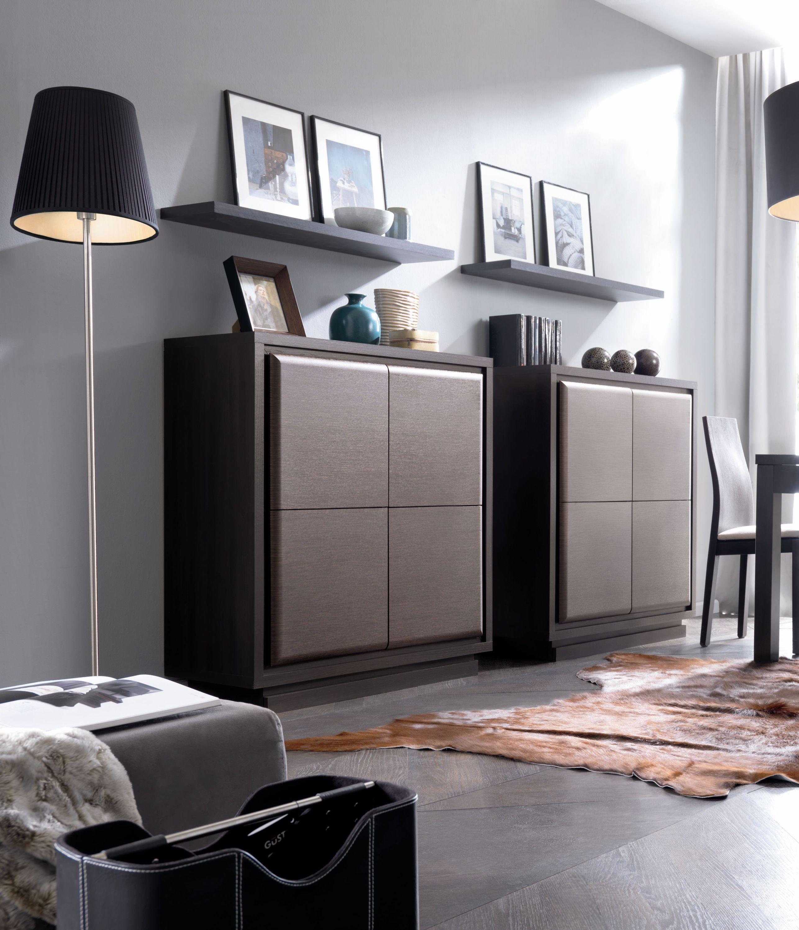 Мебель венге в гостиной в стиле модерн