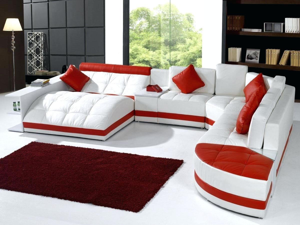 Модульный диван из экокожи