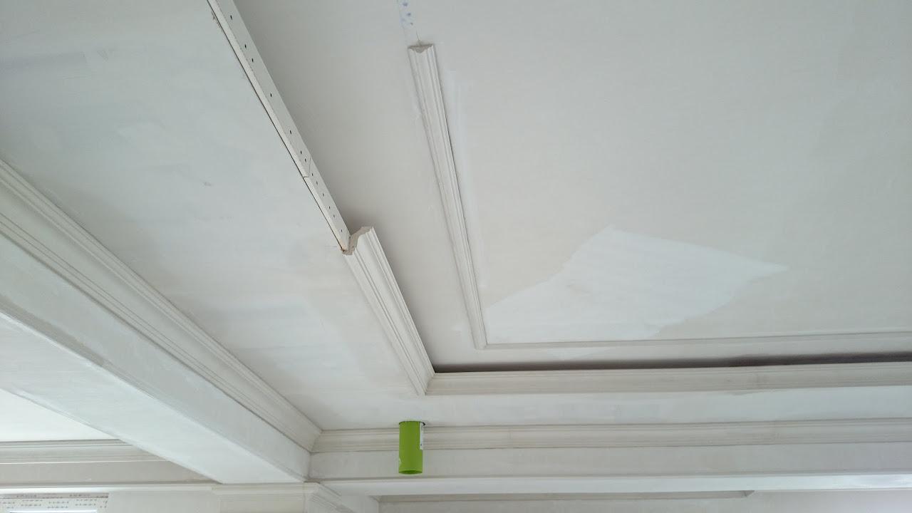 Монтаж потолочной ниши
