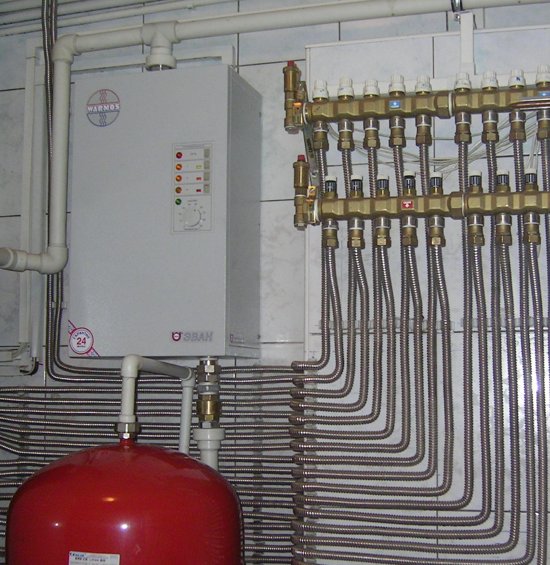 Трубы для водоснабжения из нержавеющей стали