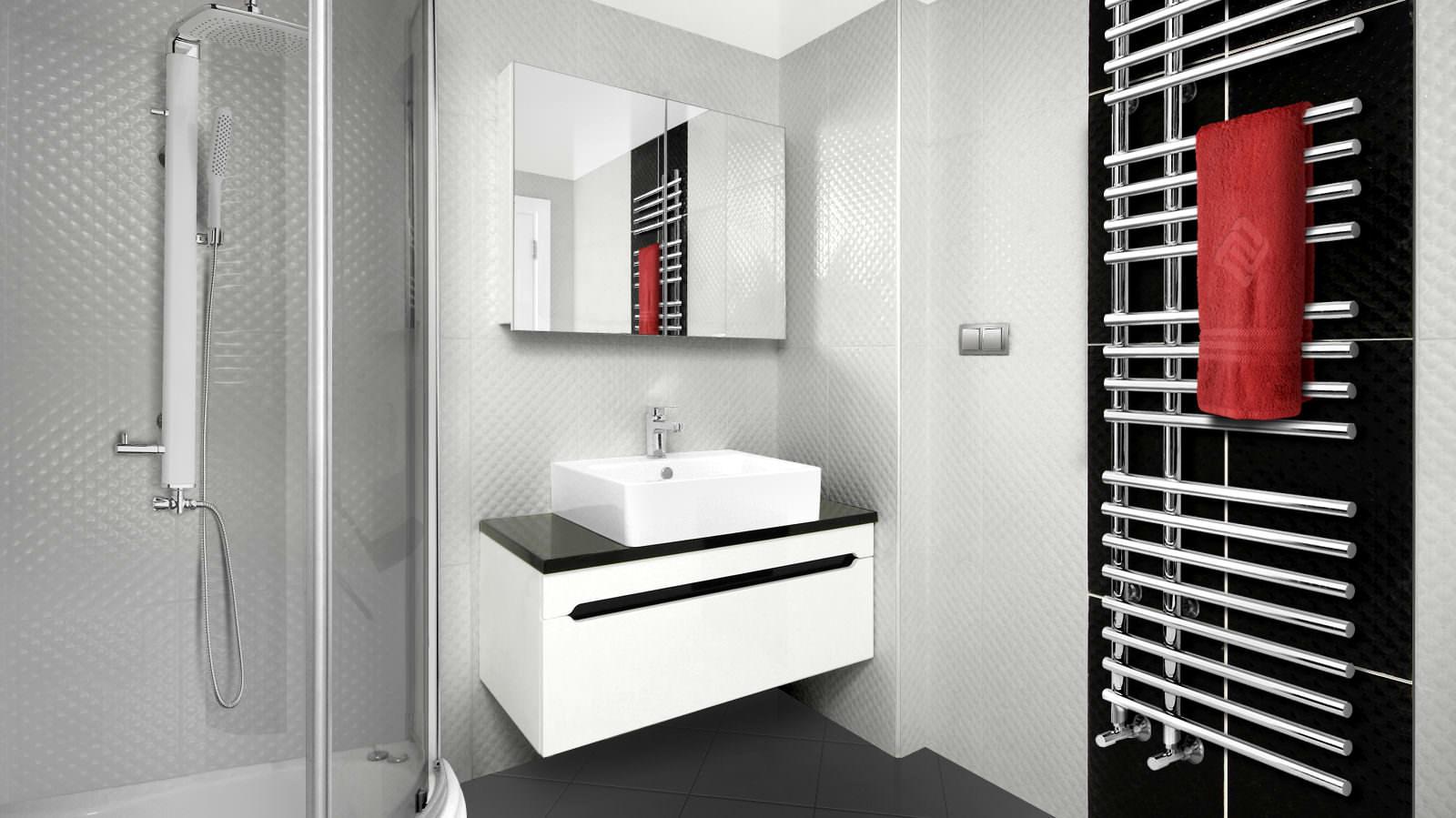 Теплый пол в ванной от полотенцесушителя