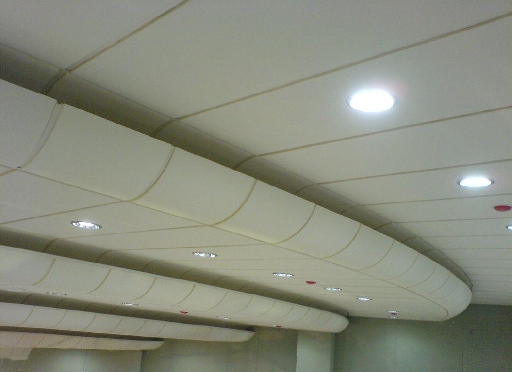 Акустические панели на потолке