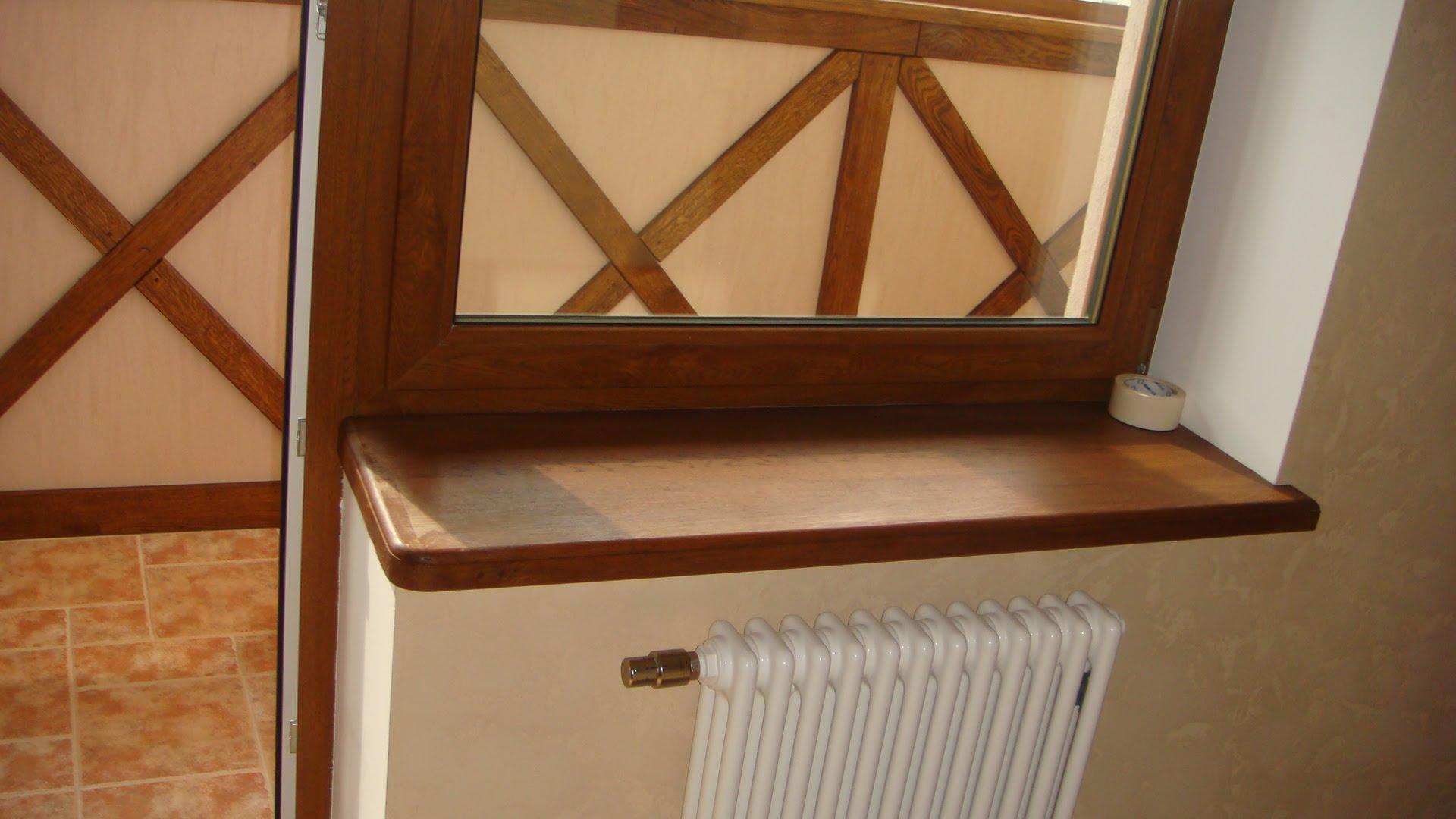 Ремонт деревянного подоконника