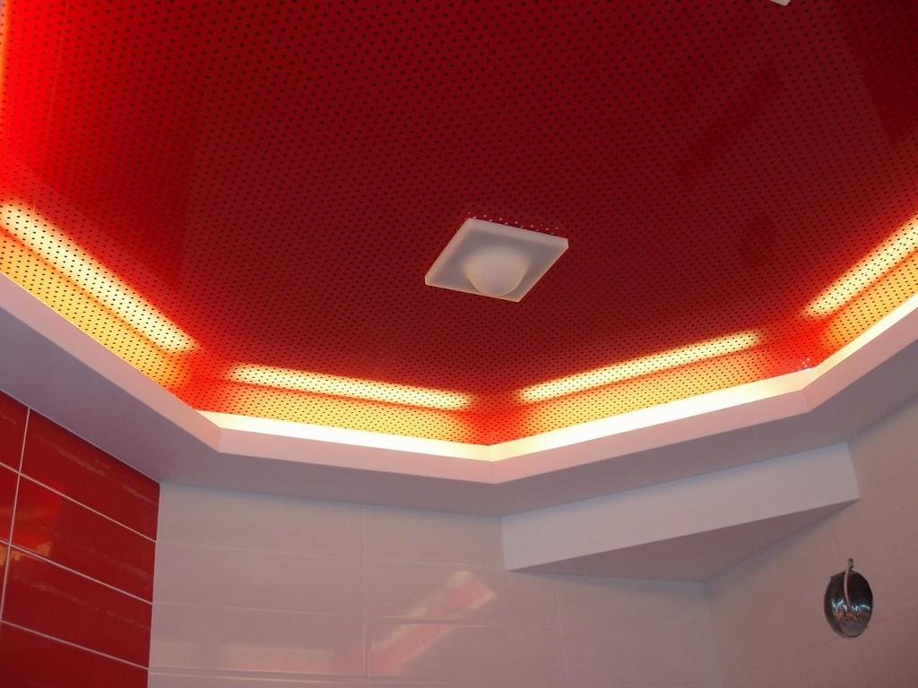 Акустический перфорированный потолок