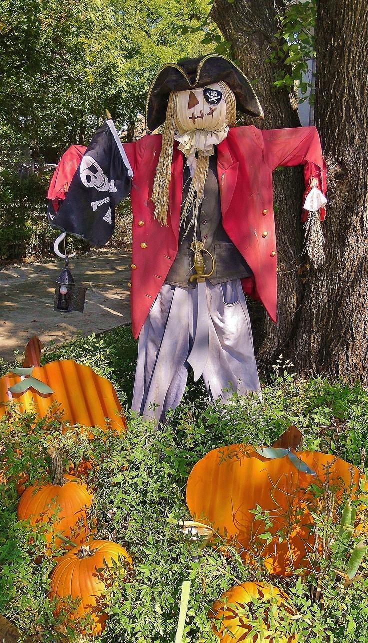 Чучело в виде пирата