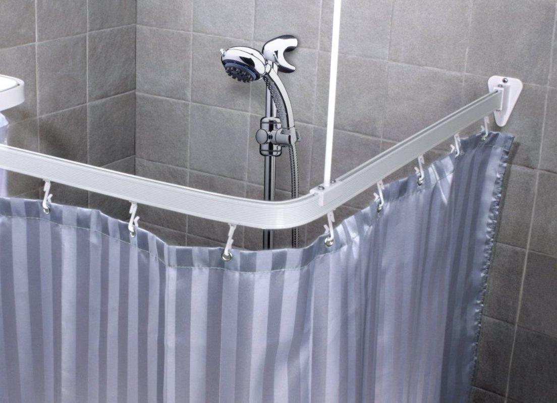 Пластиковая штанга для ванной