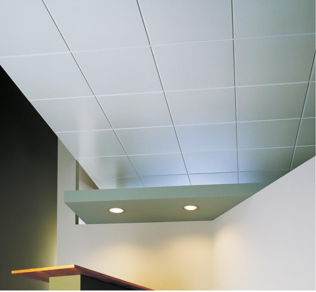 Пластиковая плитка на потолке