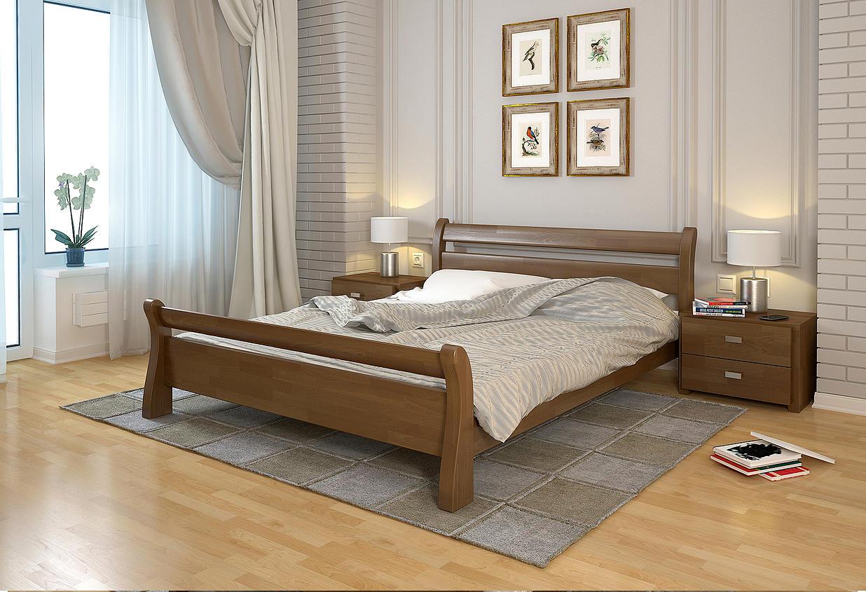 Кровать под орех