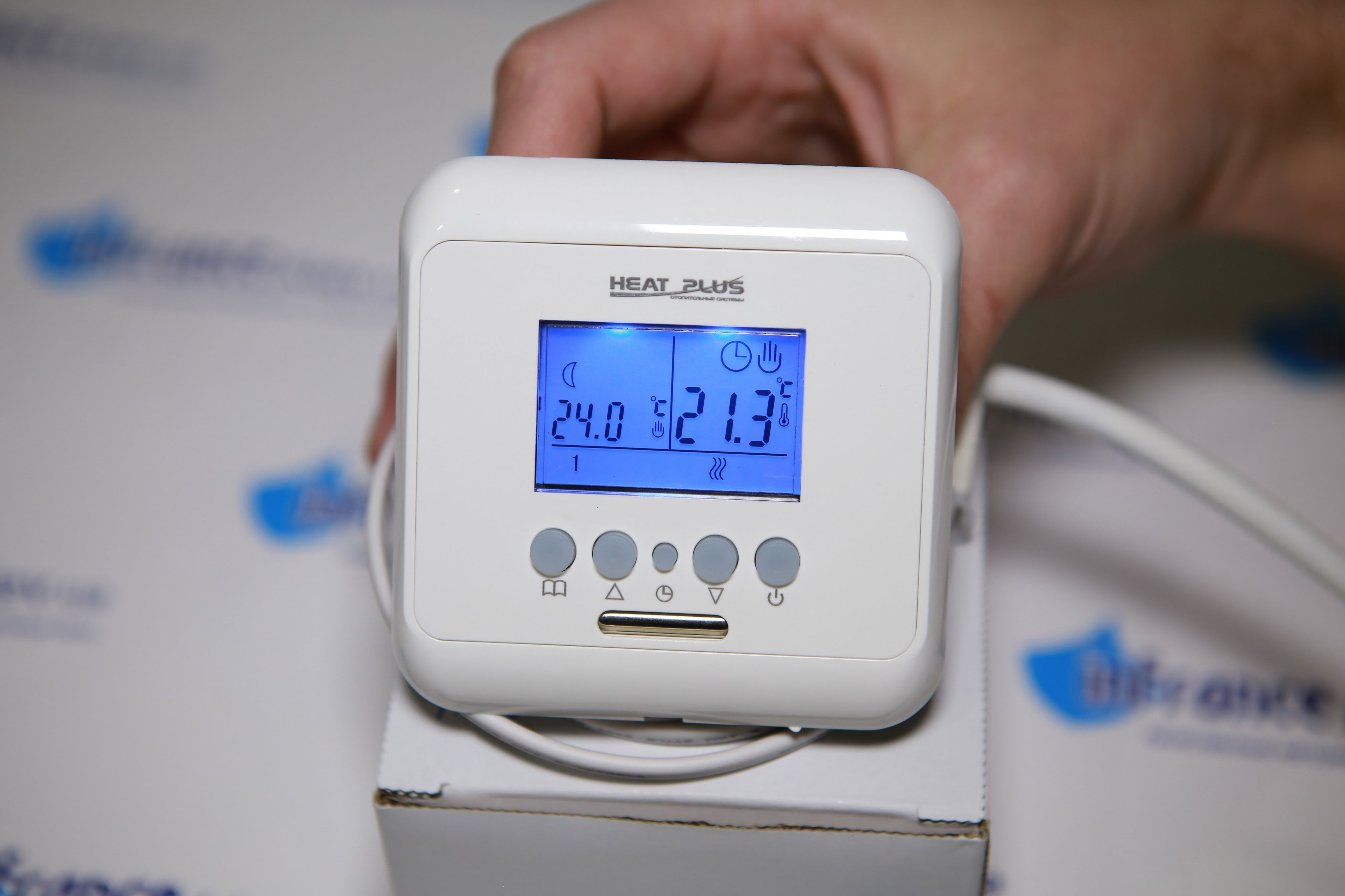 Подключение терморегулятора для теплого пола