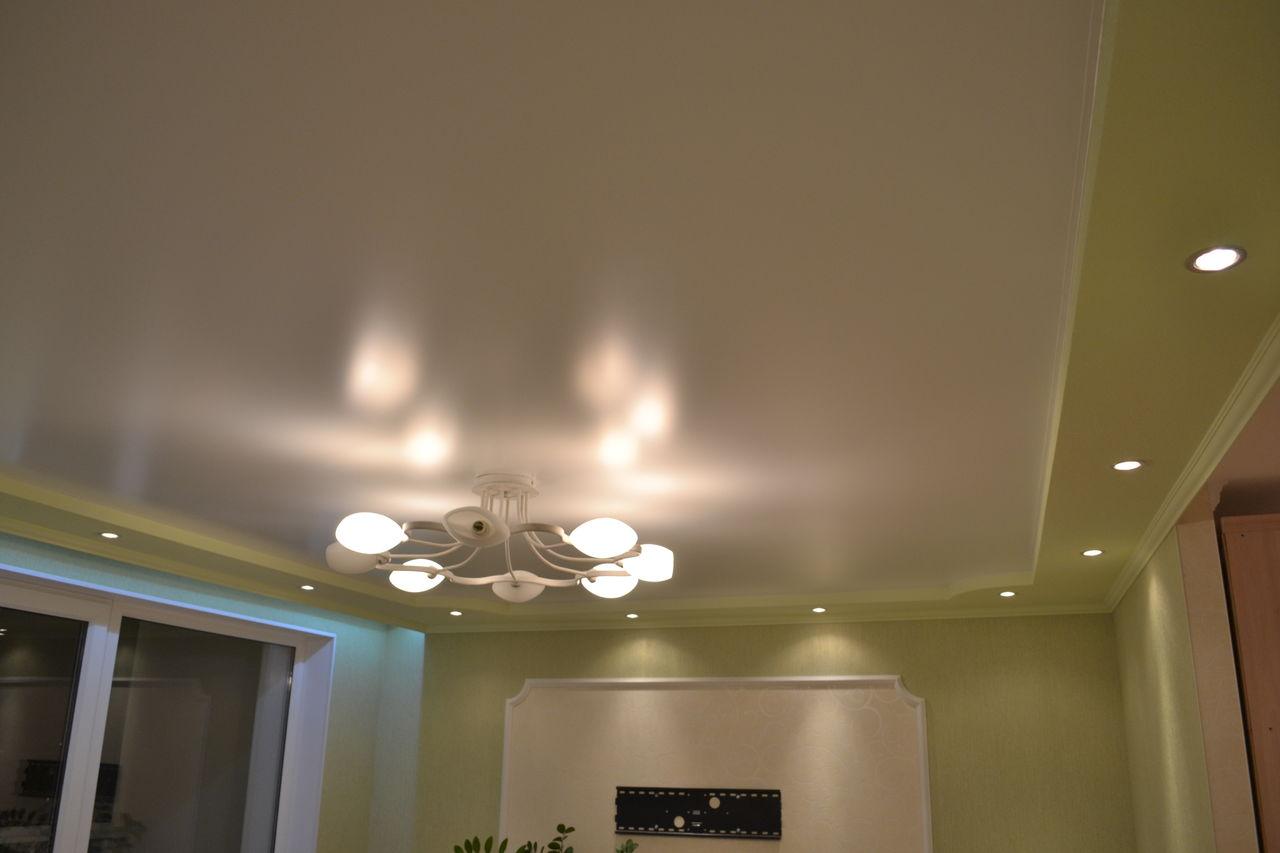 Сатиновый подвесной потолок