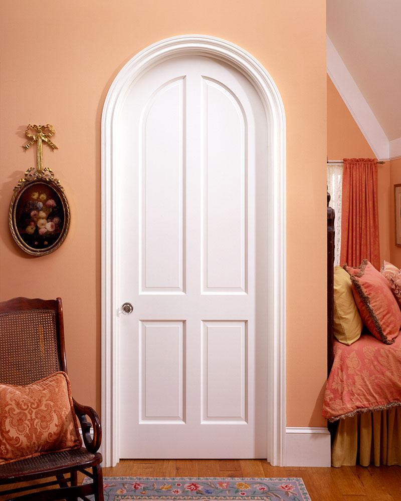 Арочная дверь под покраску