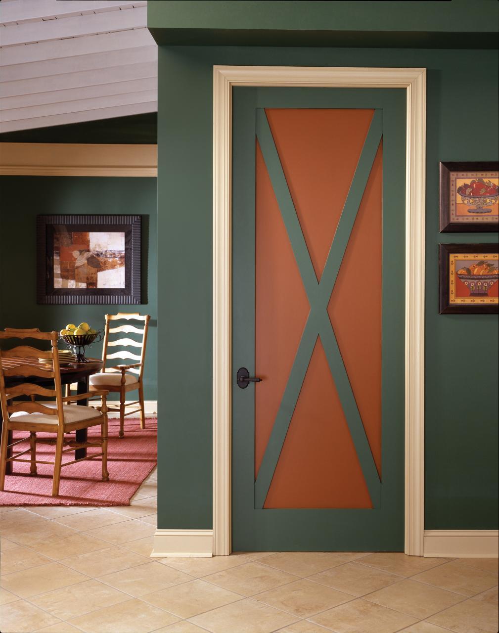 Дверь для дачи под покраску