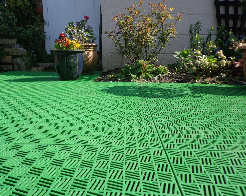 Ячеистое покрытие для газона