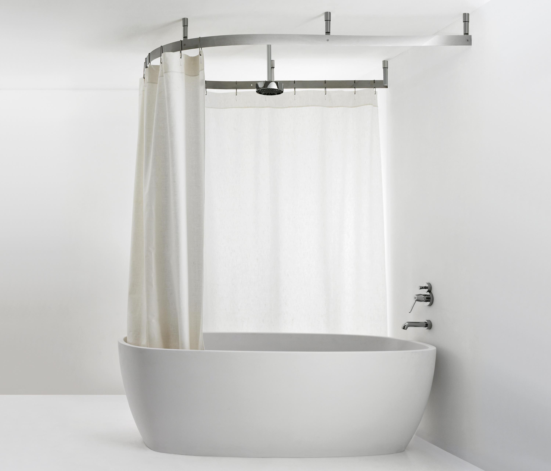 Потолочная штанга для ванной