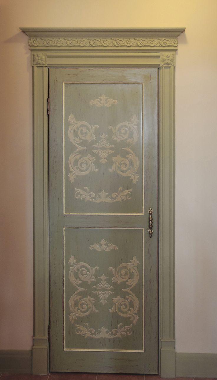 Дверь на кухню в стиле прованс