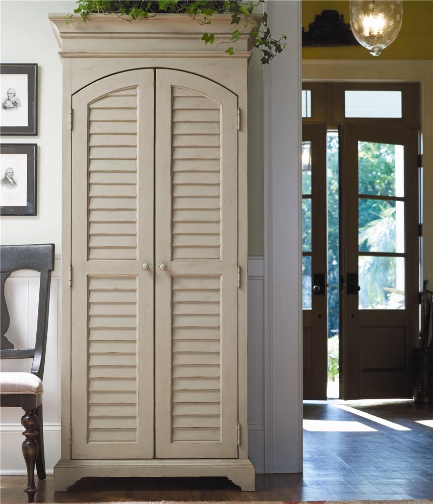 Жалюзийная дверь от шкафа в стиле прованс
