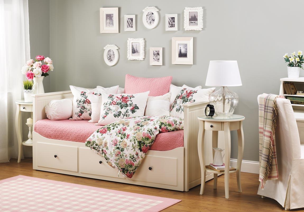Кровать тахта в стиле прованс