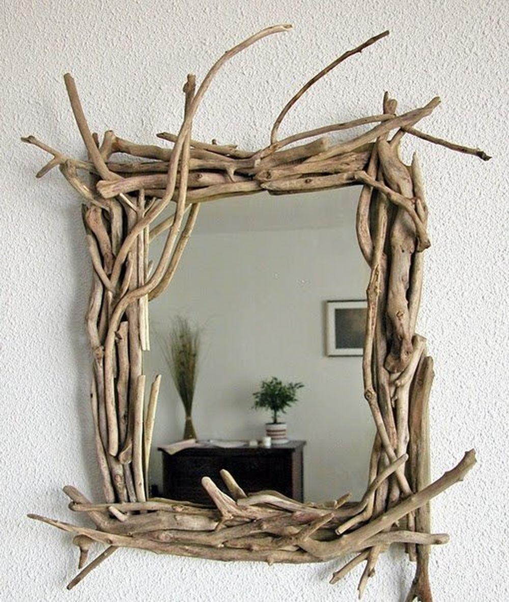 Рама для зеркала из коряг