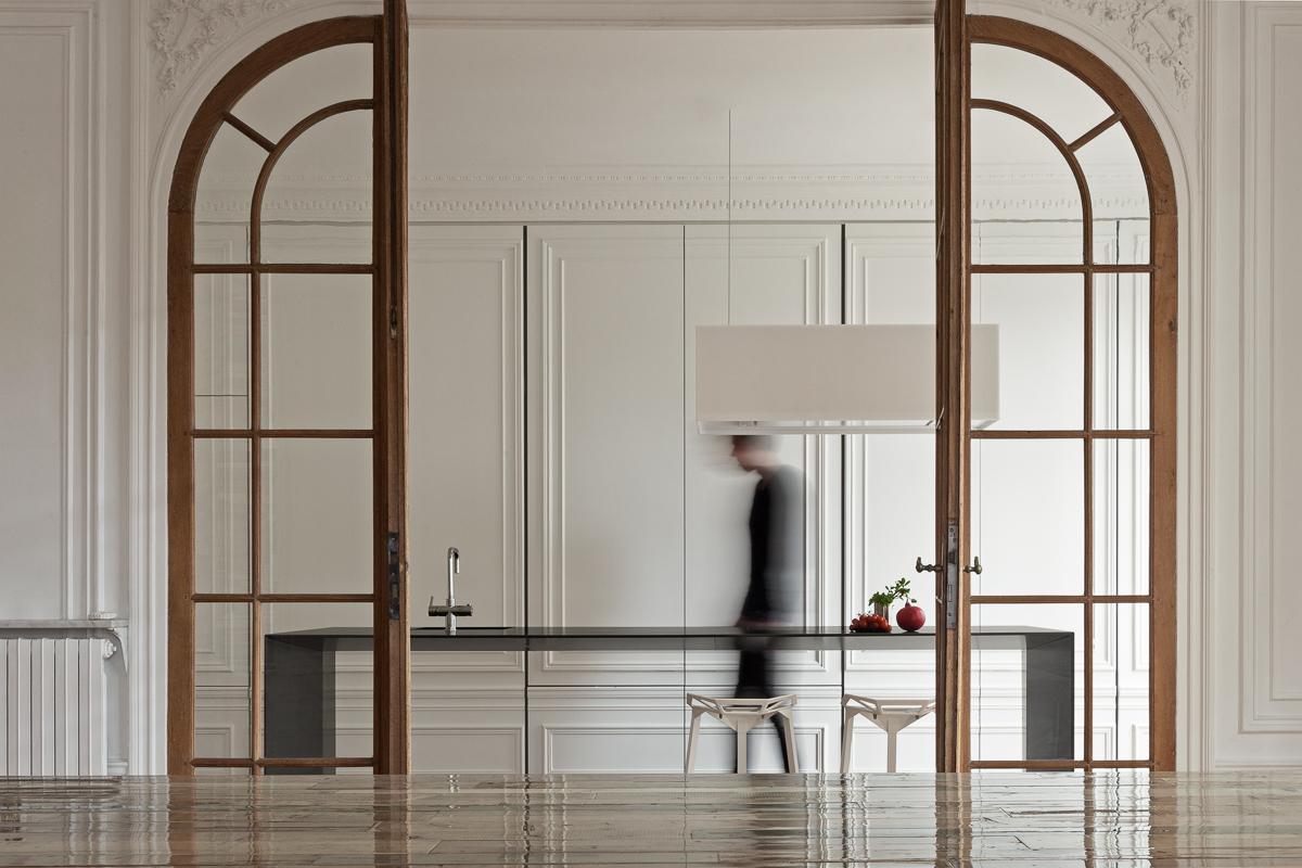 Дверь на кухню с расширителем