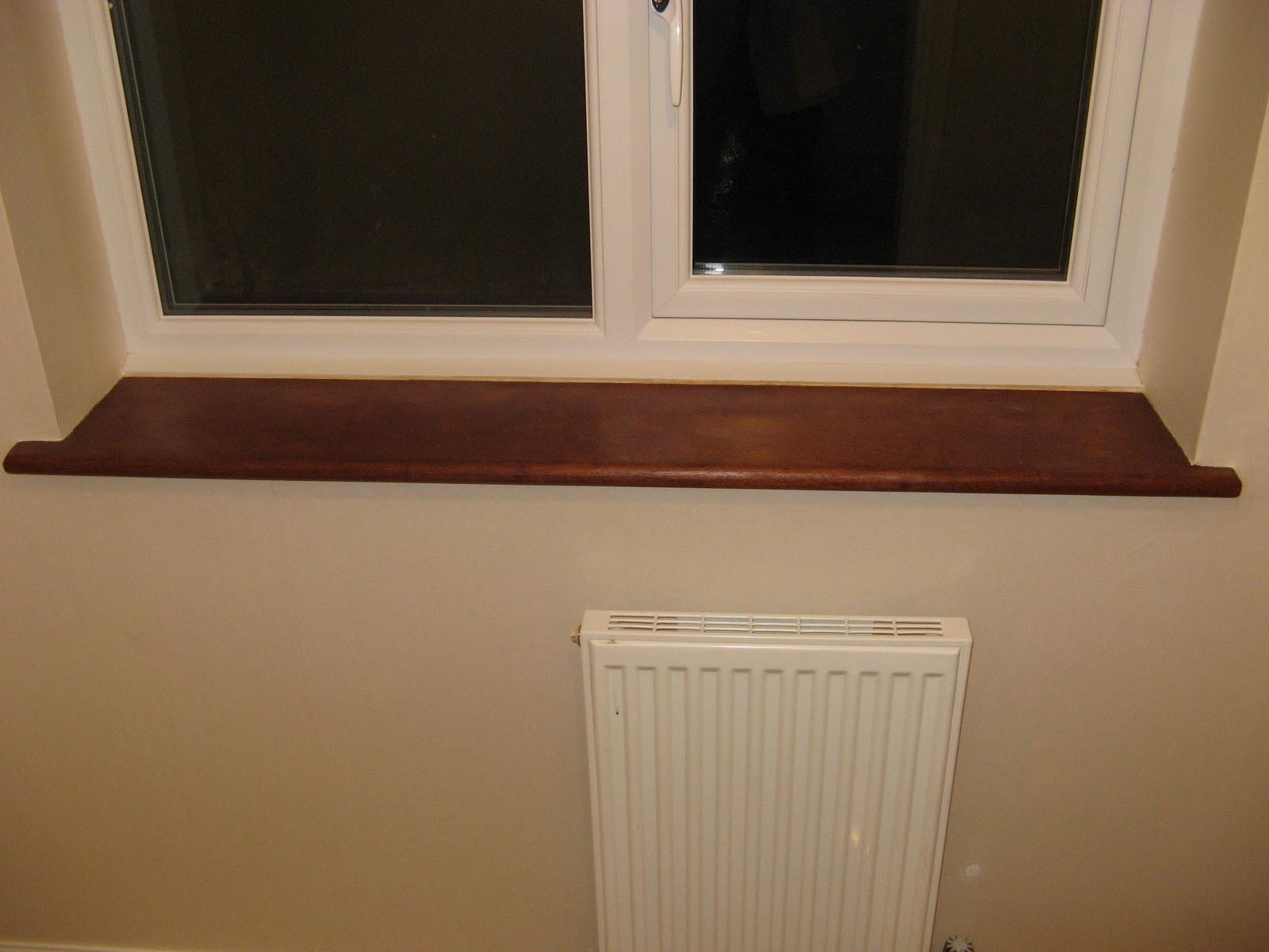 Реставрация деревянного подоконника