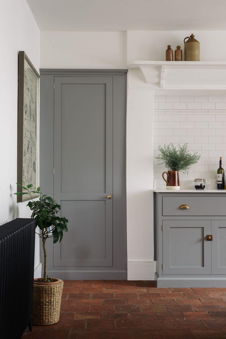 Дверь на кухню в стиле ретро