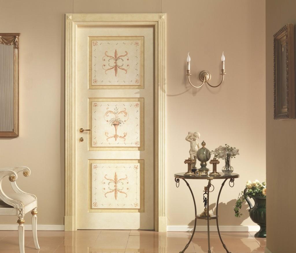 Роспись на двери