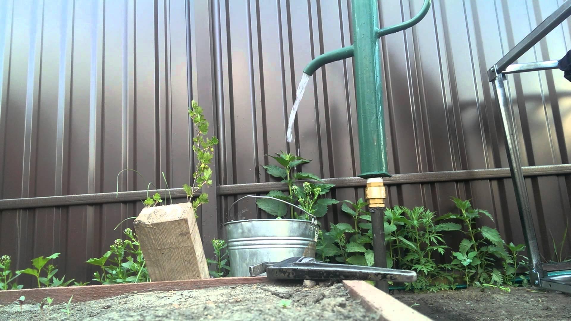 Абиссинский колодец в саду