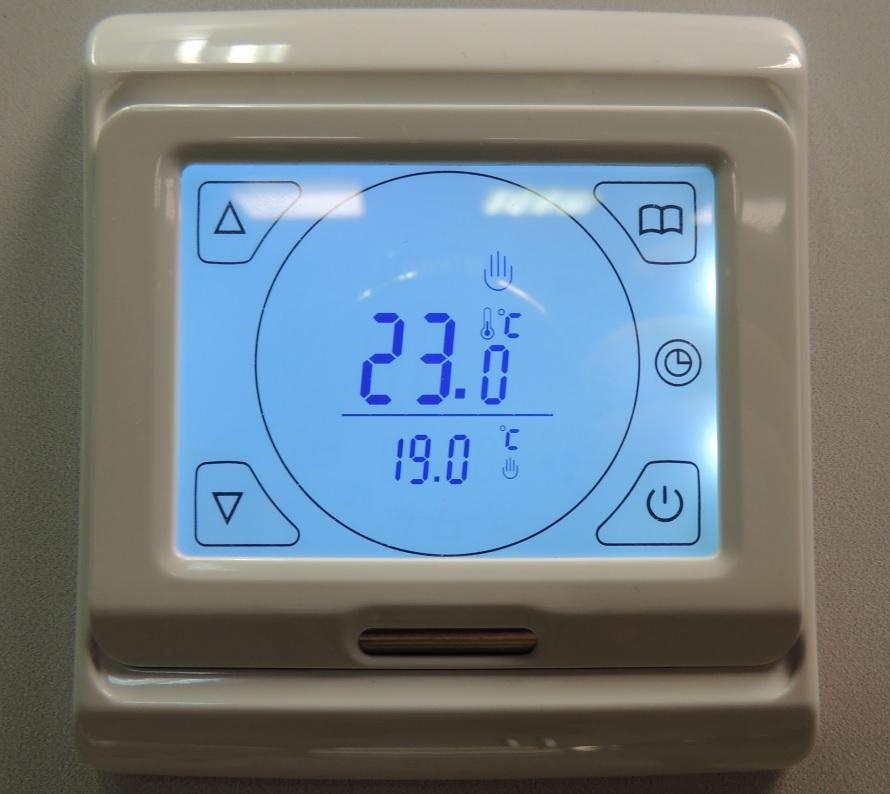 Сенсорный терморегулятор для теплого пола