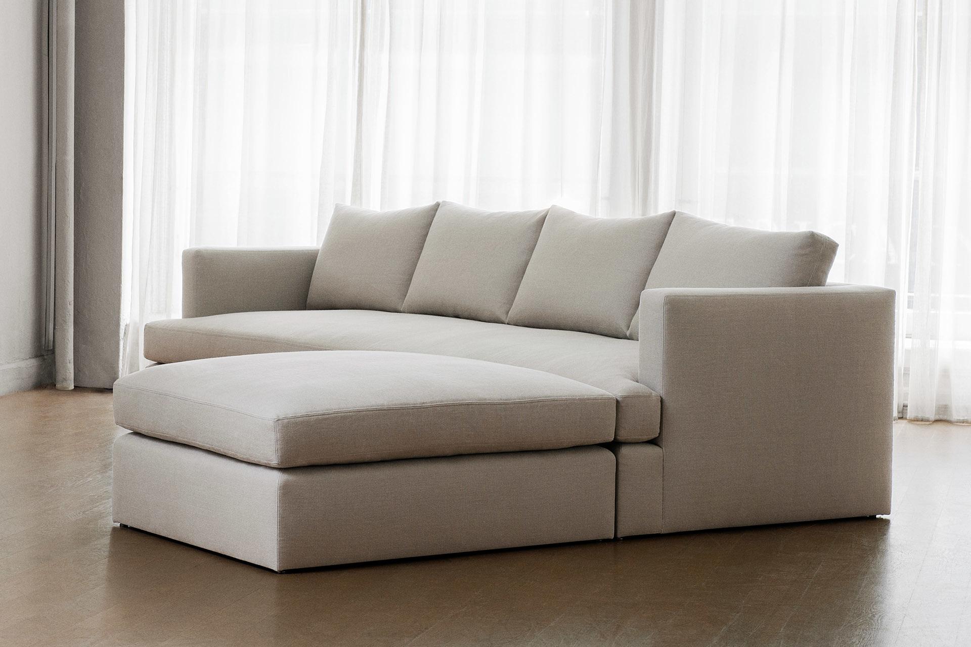 Серый диван-тахта