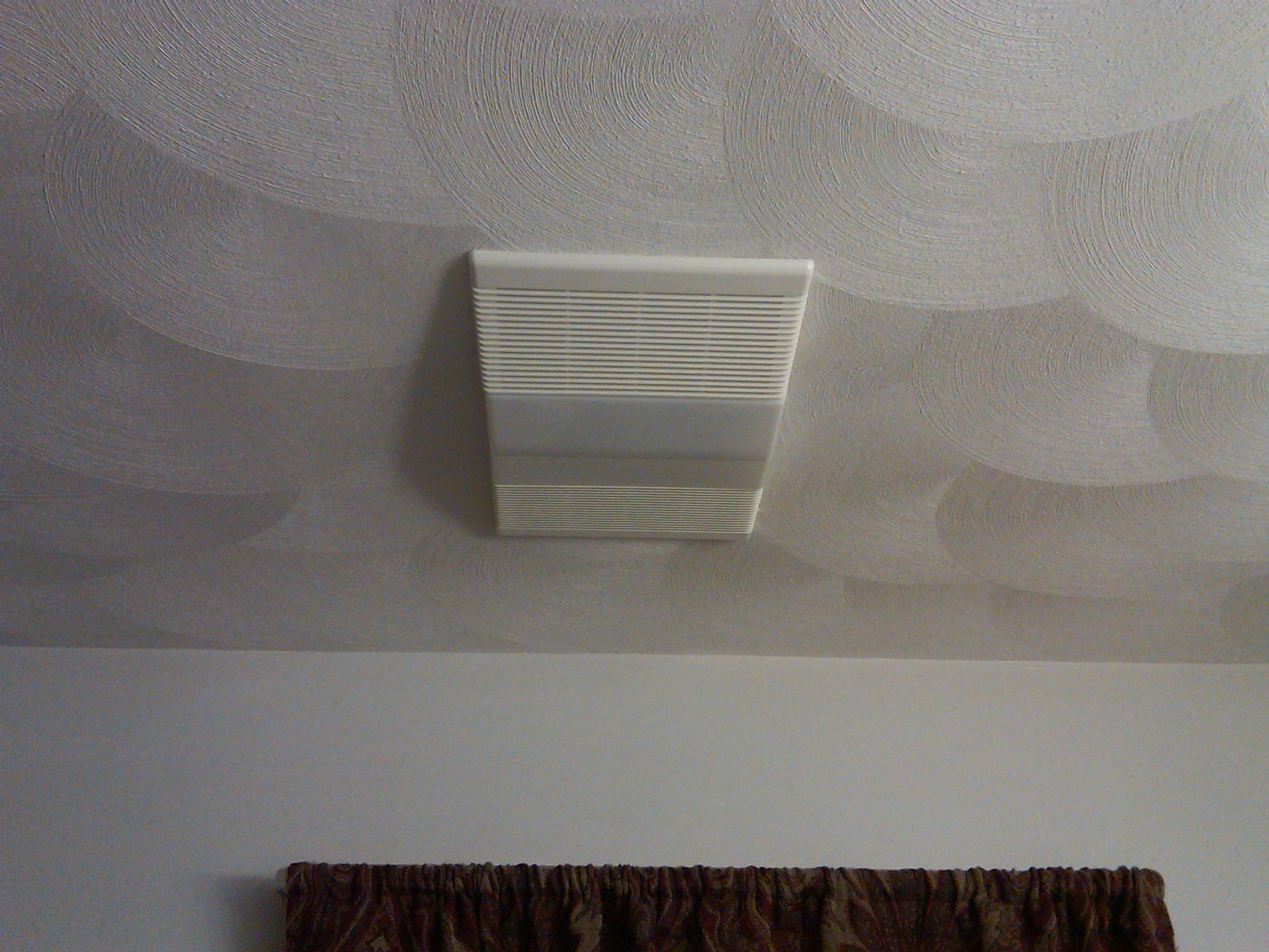 Потолок из штукатурки в ванной