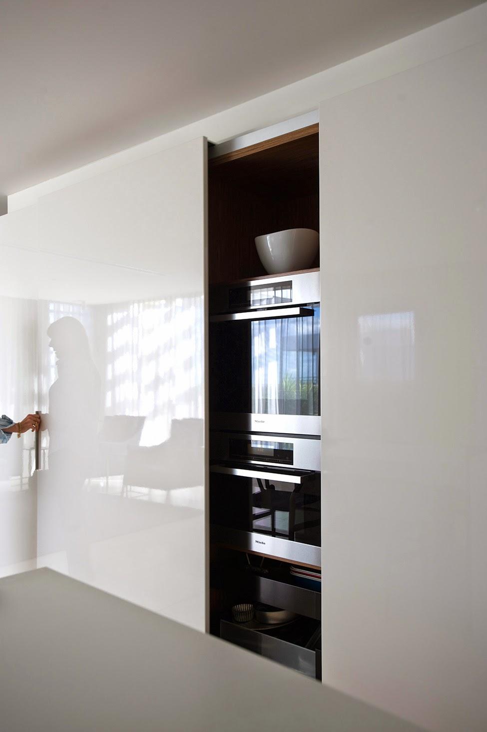 Скрытые шкафы для кухни