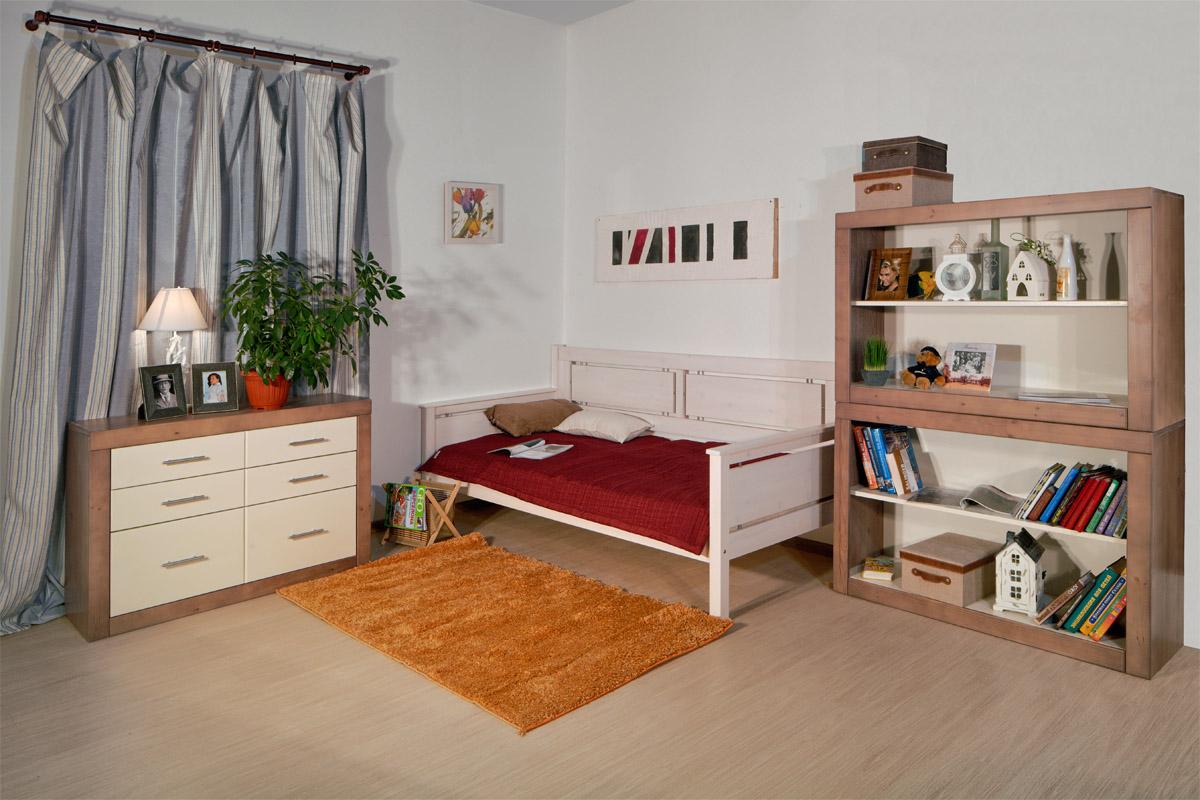 Кровать тахта со спинкой