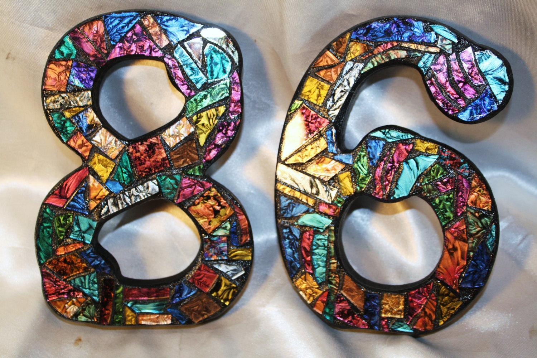 Номер на Дверь Квартиры, Красивая Табличка с Цифрами на Дом, Самоклеящиеся Пластиковые Варианты Под Золото и Серебро из Металла