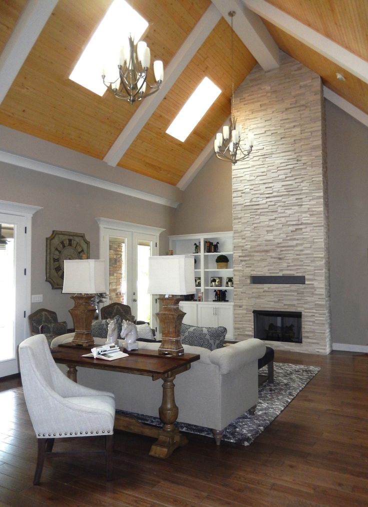 Двухцветный сводчатый потолок