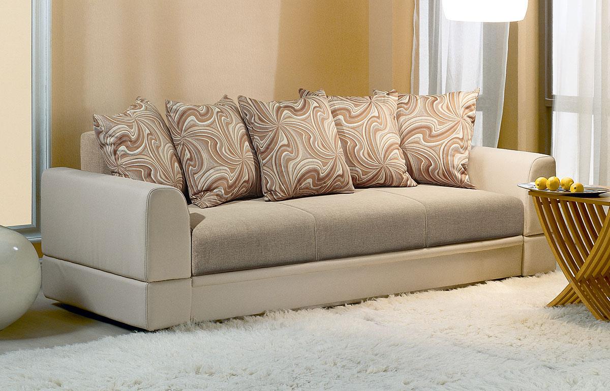 Перетяжка дивана текстилем