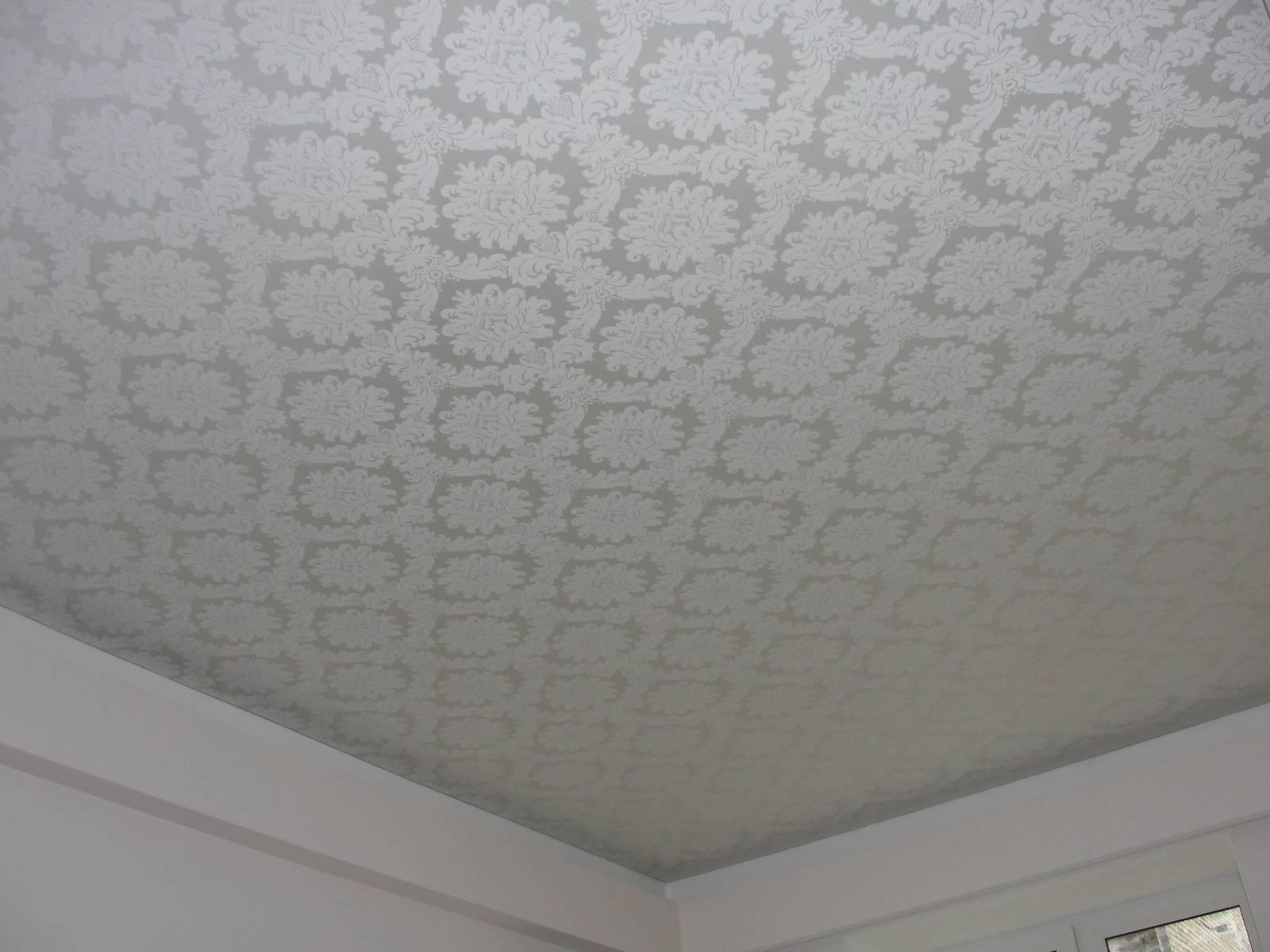 Бесшовный тканевый потолок