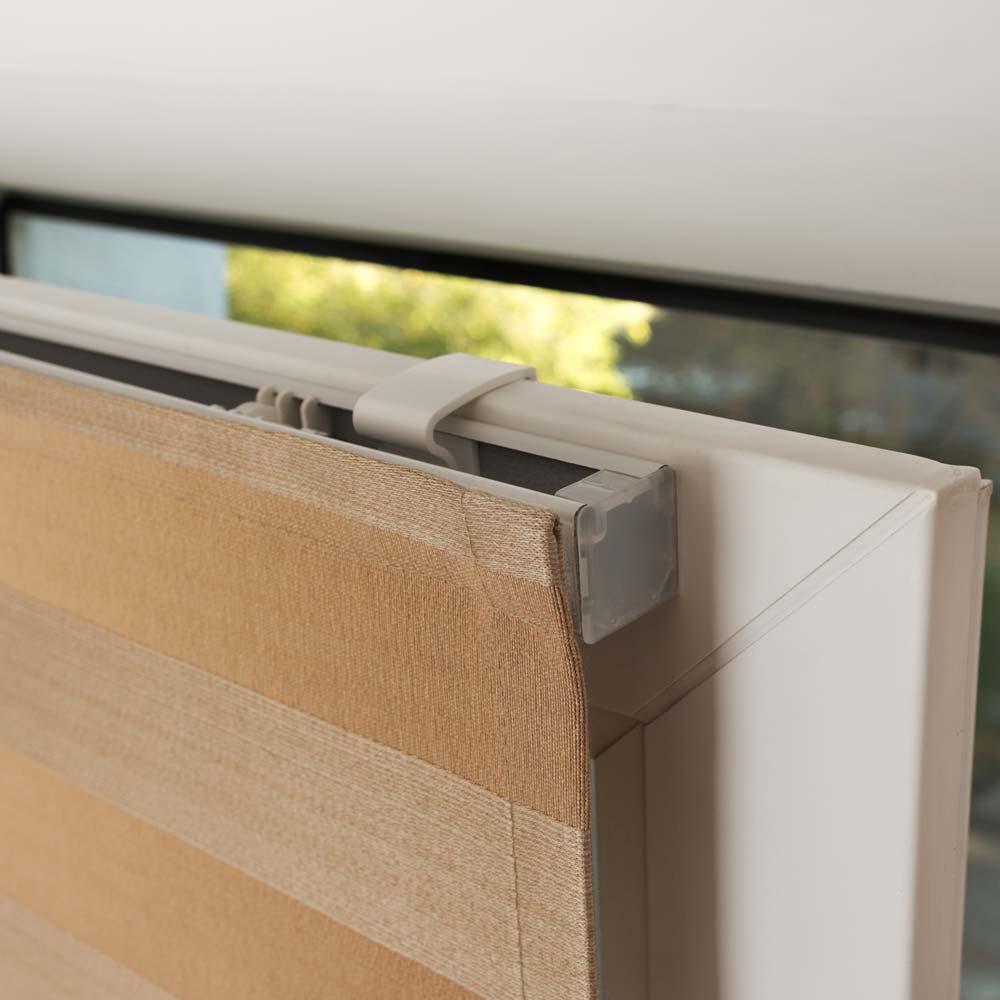 Тканевые шторы без сверления