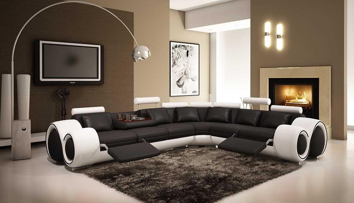 Угловой диван-реклайнер